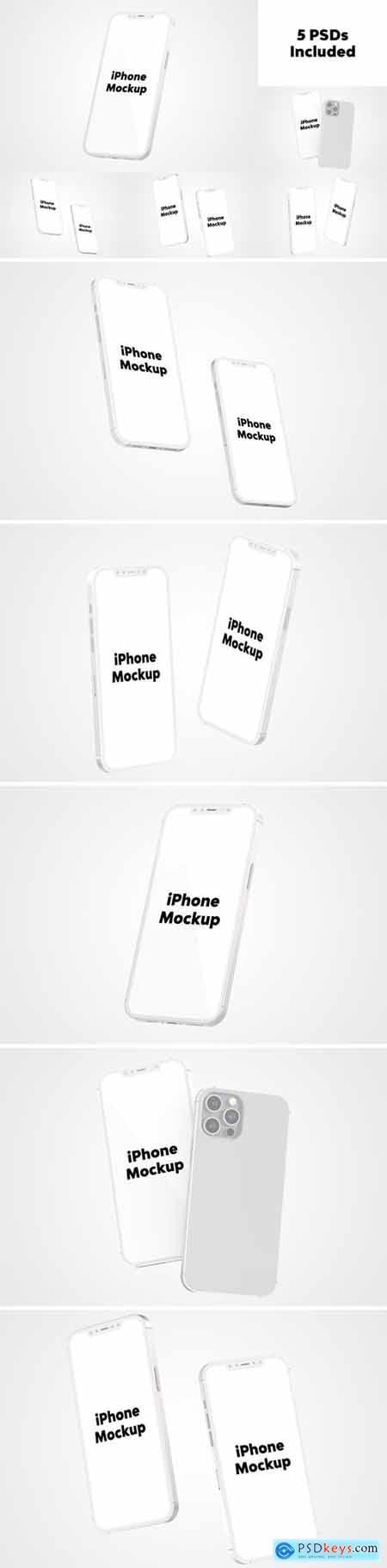iPhone 12 Mockup Set