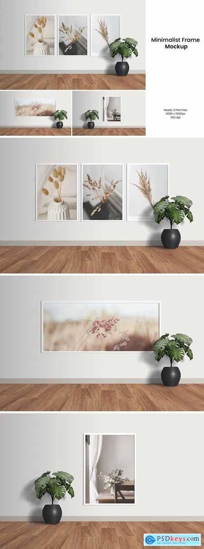 Minimalist Frame Mockup