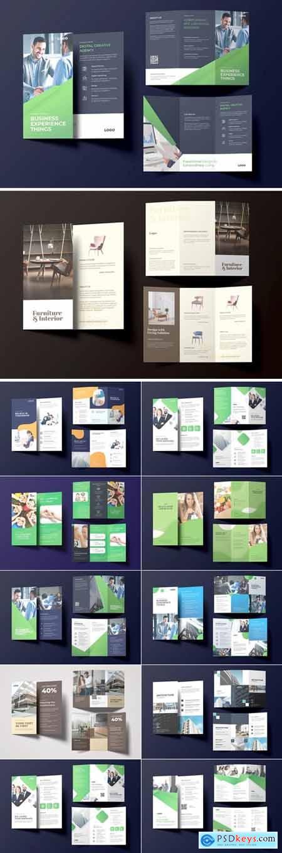 Business Trifold Brochure Bundle