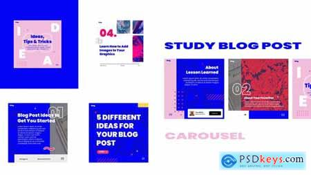 Study blog post carousel instagram 30881843