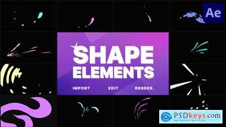 Shape Elements Pack - After Effects 30921341