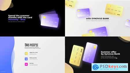 Bank card promo presentation 30746471