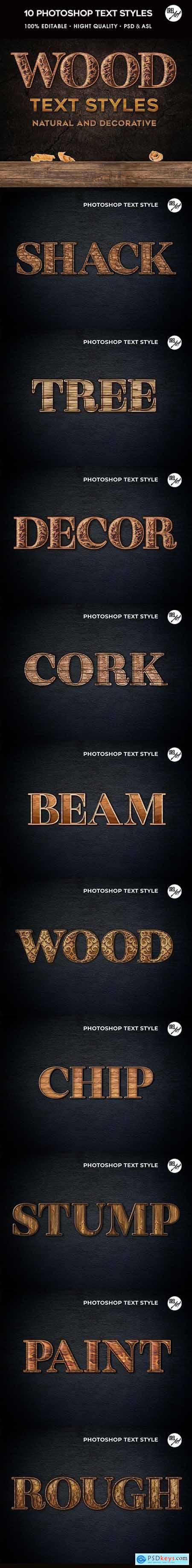 Wood Photoshop Styles 30366448