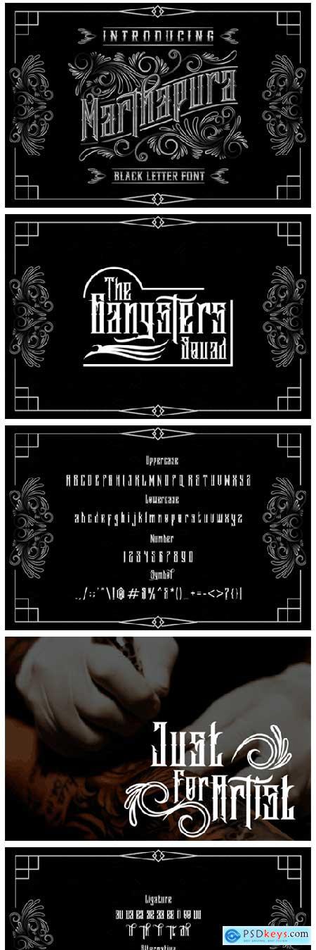 Marthapura Font