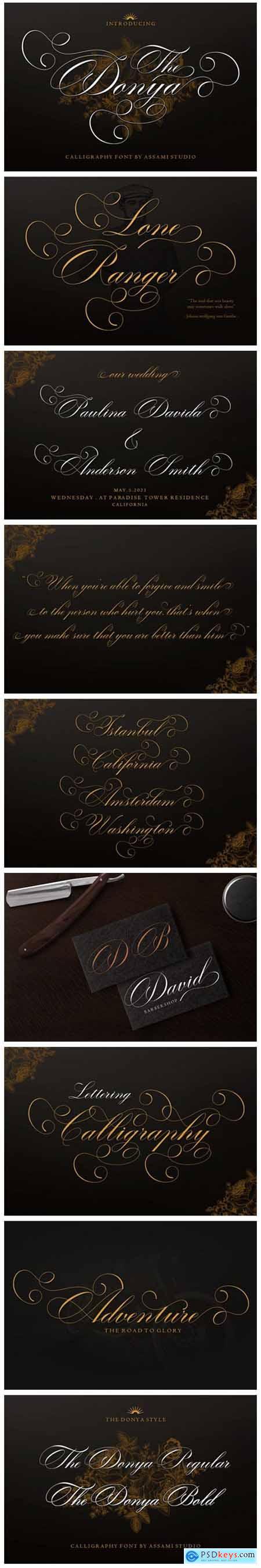 The Donya Font
