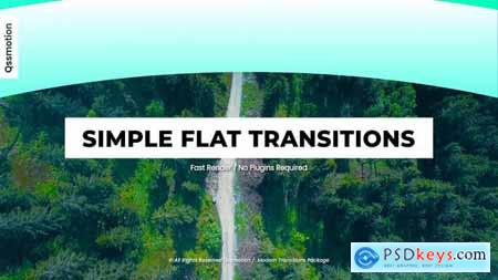 Simple Flat Transitions For After Effects 30954297
