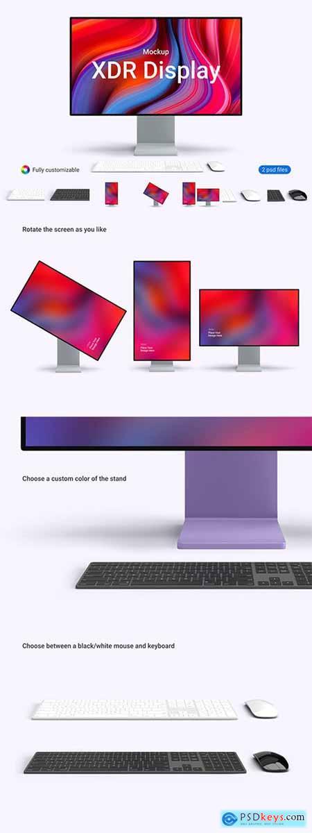Apple Pro XDR Display Mockup