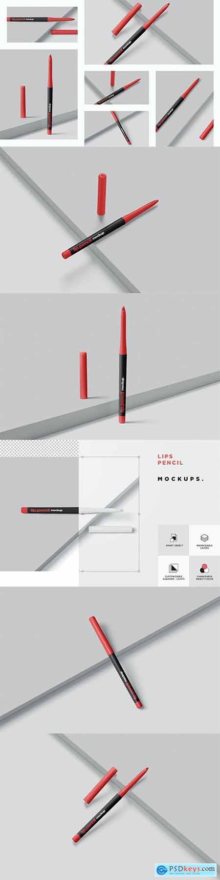 Lip Liner Mockups
