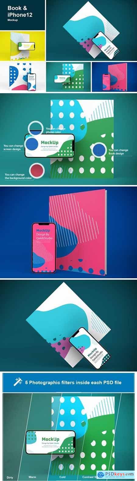 Book & iPhone 12