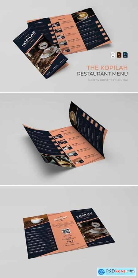 Kopilah - Restaurant Menu