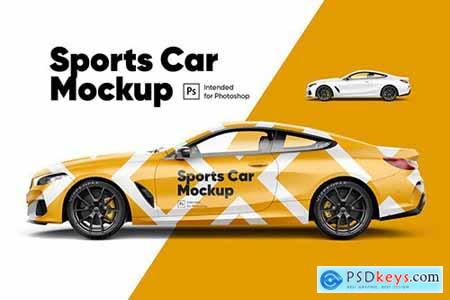 Sports Car Mockup