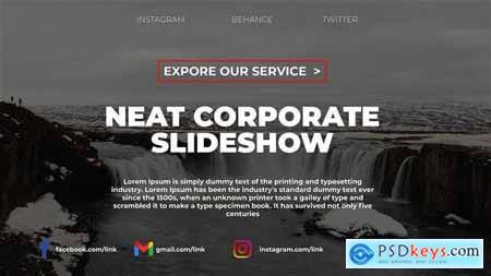 Neat Corporate Slideshow 31007140