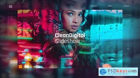 Clean Digital Slideshow - Corporate Presentation - IT Technology Opener - Hi-Tech Futuristic 30865531