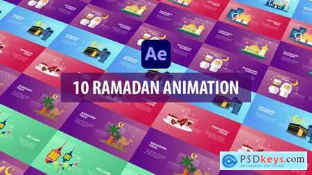 Ramadan Animation - After Effects 30997341