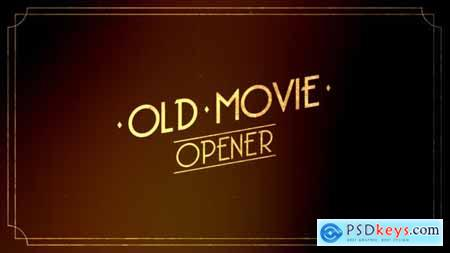 Old Movie Intro 30507106