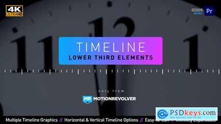 Timeline Lower Third Elements MOGRT for Premiere Pro 30873664
