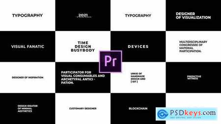 Just Typography 2.0 for Premiere Pro Essential Graphics 30954684