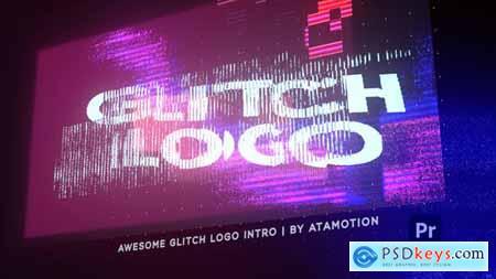 Glitch Distortion Intro Logo 30854135