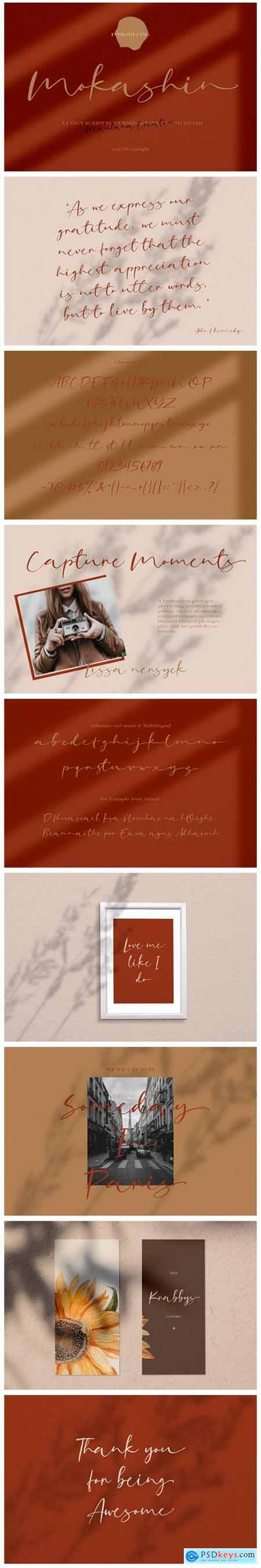 Mokashin Font