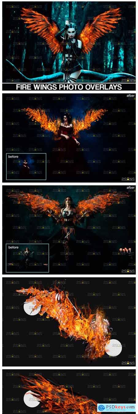 Fire Wings Overlay 8559832
