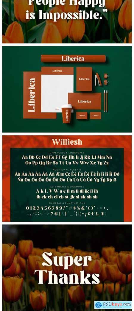 Williesh Font