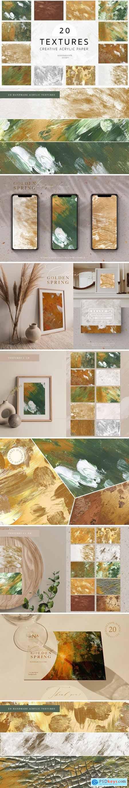 Creative Acrylic Textures