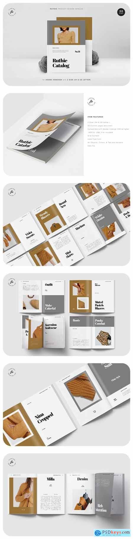 Ruthie Product Design Catalog
