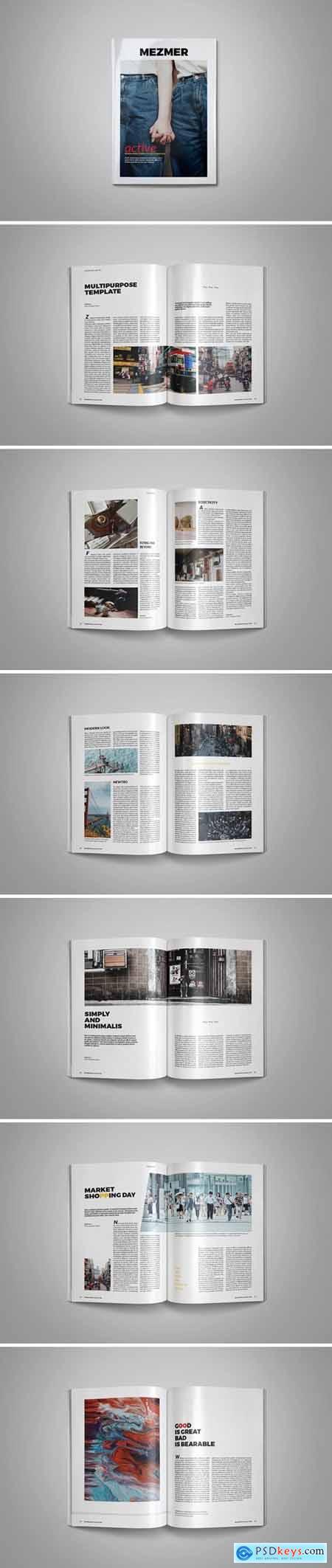Magazine Template 001