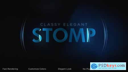Classy Elegant Stomp Intro 31013309