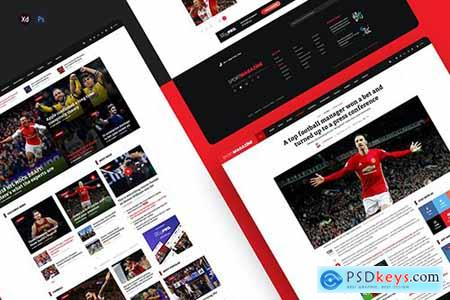 SportMagazine - Magazine & newspaper template
