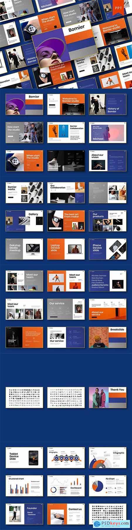 Bomier – Business PowerPoint Template