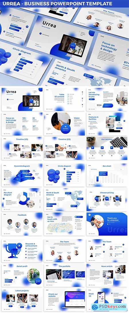 Urrea - Business Powerpoint Template