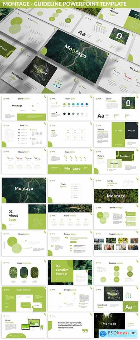 Montage - Guideline Powerpoint Template