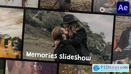 Memories Slideshow - After Effects 31151517