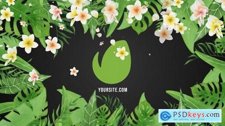Tropical Vibes Logo Reveal 31125146