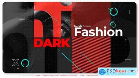 Fashion Dark Trendy Opener 31121785
