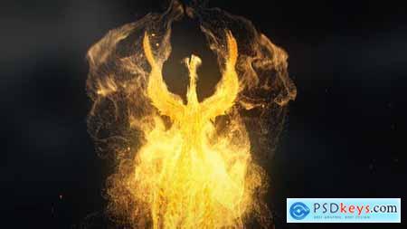 Flying Phoenix Logo Reveal 28538281