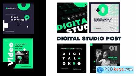 Digital studio post instagram 31136763