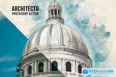 Architecto Photoshop Action