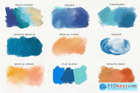 Procreate Artist Oil Brushes 5967760