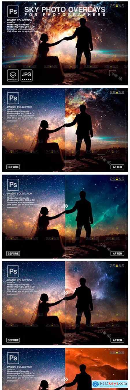 Night Sky Backdrop, Photoshop Overlay 9414420
