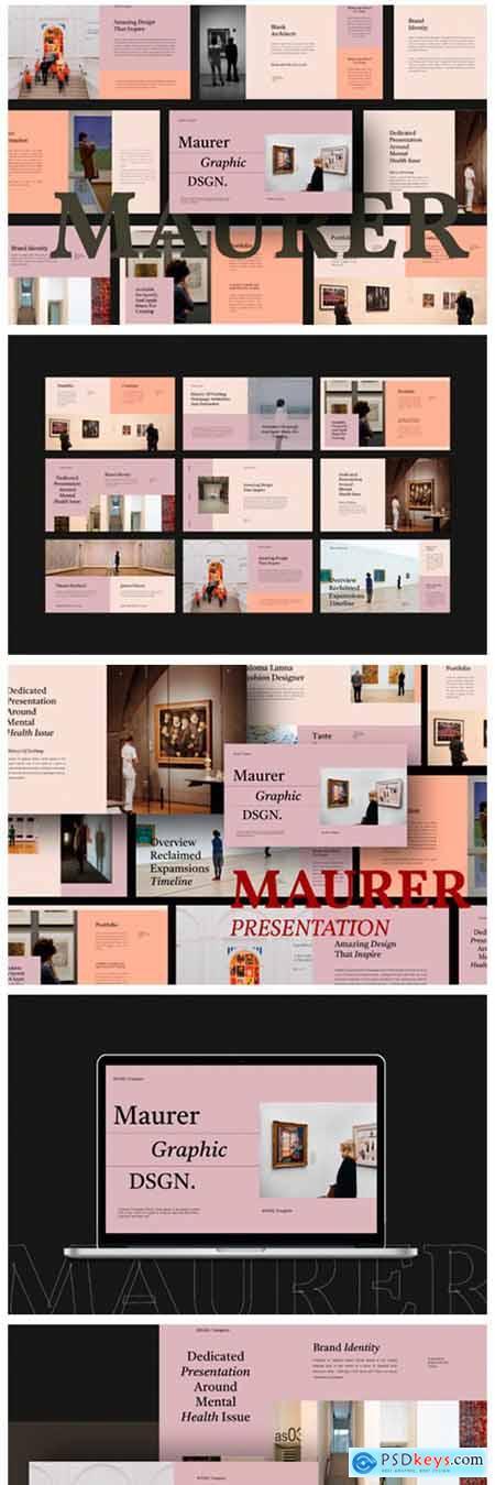 Maurer Powerpoint Template 9433639