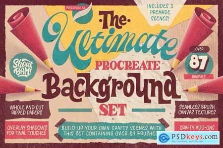 Ultimate Procreate Background Set 5947780