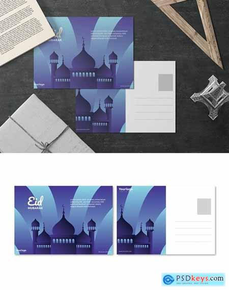 Happy Ramadhan - Postcard Design
