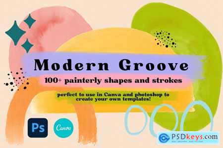 Modern Groove Shapes and Strokes 5989493