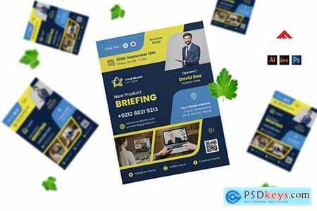 Virtual Event Flyer