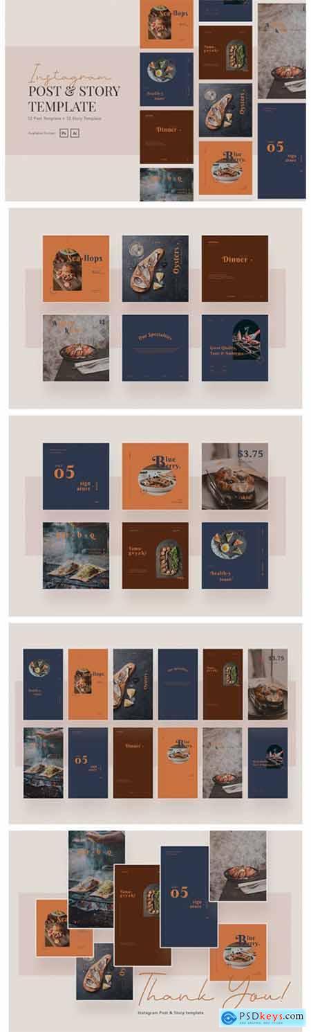 Elegant and Beauty Restaurant Instagram 9725458