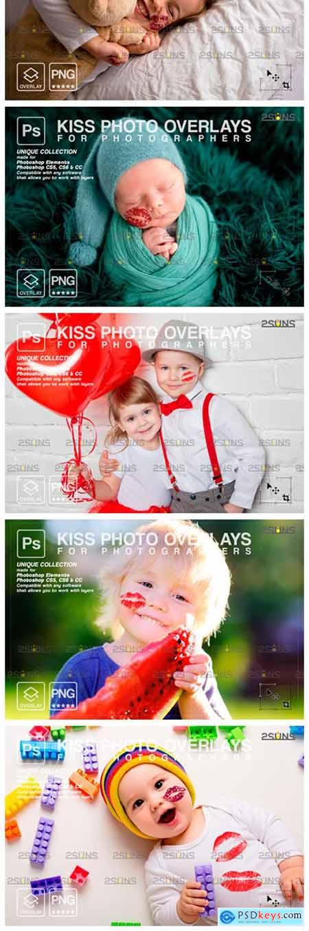 20 Kiss Overlays Valentines Day 8561495