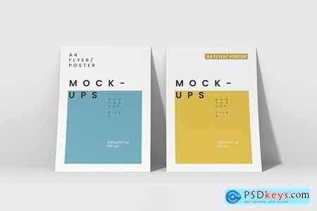 A4 Flyer-Poster Mockups