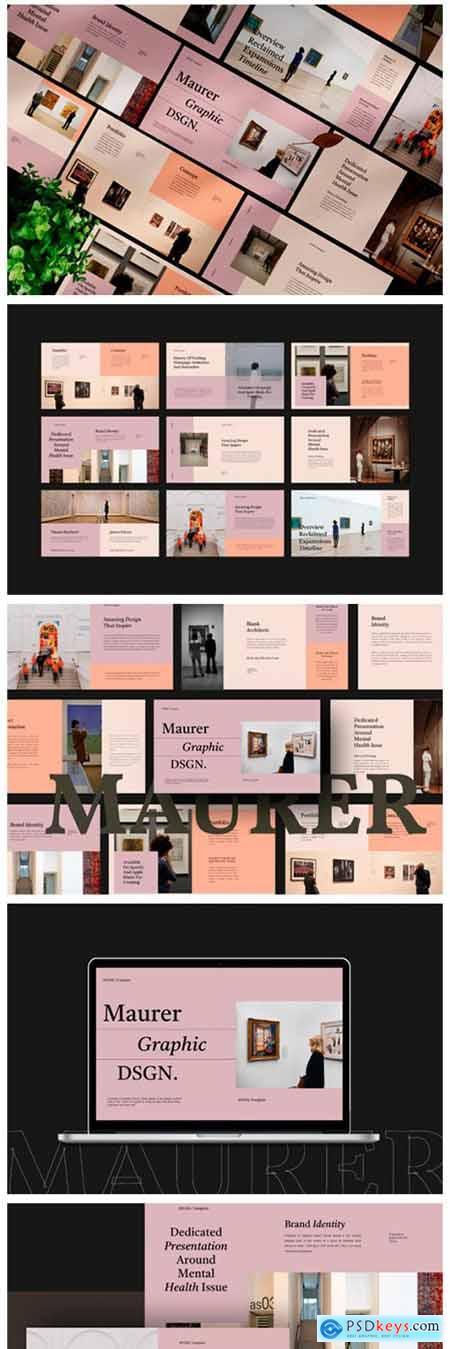 Maurer Bundle Pack Presentation Template 9434370